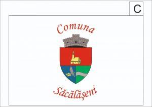 Consultare Publică privind insușirea variantei finale a proiectului de steag al Comunei Săcălășeni.
